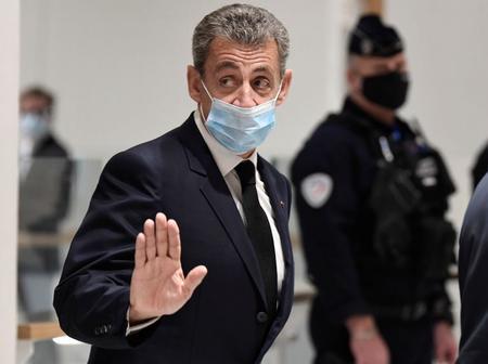 Sarkozy devant la justice française.