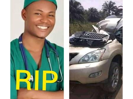 SAD : 2 Months To His Wedding, See What Happened To This Young Medical Doctor