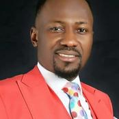 Check Out The Words Of Encouragement Released By Apostle Johnson Suleman