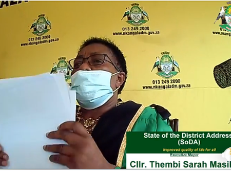ANC Mayor struggles to read her own speech during state of the district address