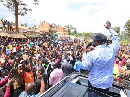 Popular Mp Dumps Jubilee For DP Ruto's Camp, Passes a Message