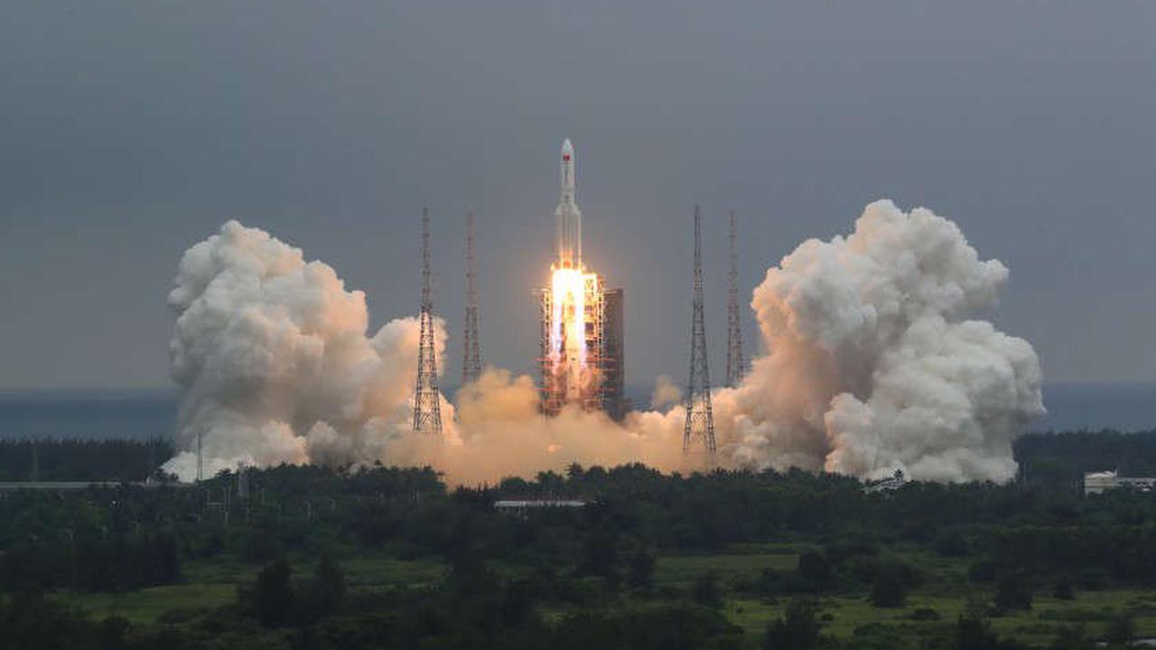 China says most of its Long March 5B rocket burned up during its reentry to Earth's atmosphere