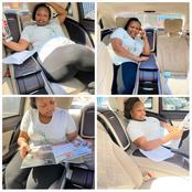 Latest Photos of Jubilee Nominated Senator Millicent Omanga That Has Left Kenyans Talking