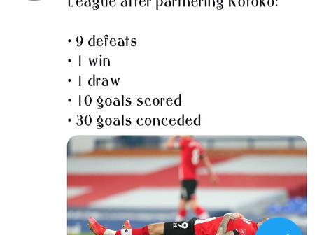 Check out Southampton's records in the EPL after their partnership with Asante Kotoko.