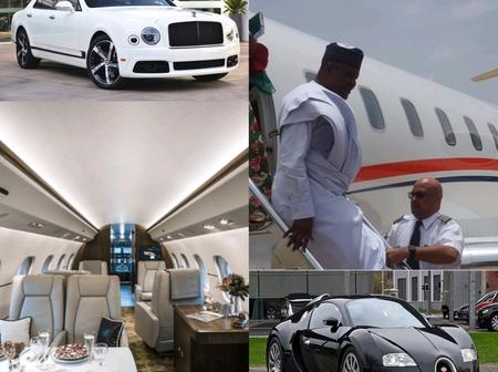 Money Is Sweet: Exclusive Pictures Of Dangote Cars and Private Jet Check It Out For Yourself