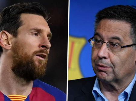 Official:Messi declares total hatred for Bartomeu, follow full Messi interview with goal
