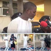 Police Arrest A Young Man For Stealing At His Inlaws' House.