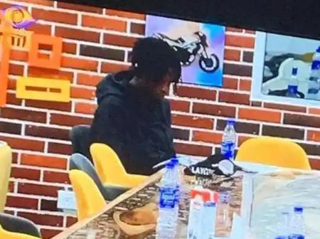 BBNaija: See What Laycon Was Seen On Camera Doing Deep In The Night