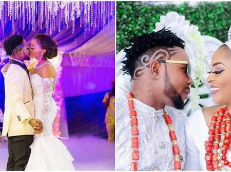 Oritsefemi and wife, Nabila Fash reconcile after she calls him out for cheating.