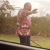 Pascal Tokodi Excited as Uhuru is Photo Shopped Watching Selina