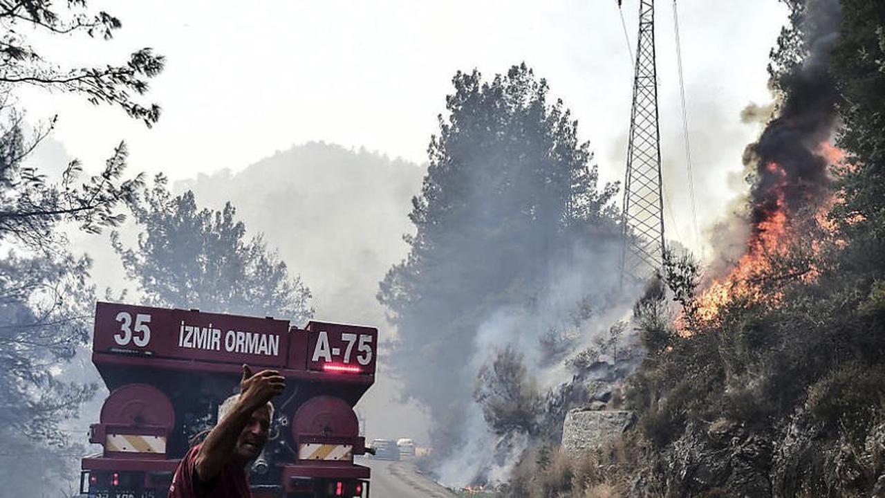 Türkei: Viele Feuer nicht unter Kontrolle