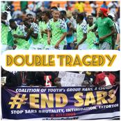 Double Tragedy: As Nigerians are Protesting Against #ENDSARS, See what has Happened to Them in Sport