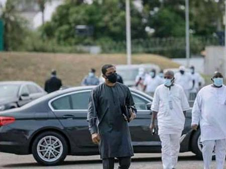 Samuel Eto'o présent en Côte d'Ivoire pour rendre hommage à Hamed Bakayoko