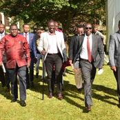 Vocal Politicians Who Accompanied Ruto To Mt Kenya Today