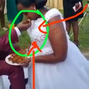 See What The Bride Did During The Wedding Ceremony That Drew Attention. (Video)