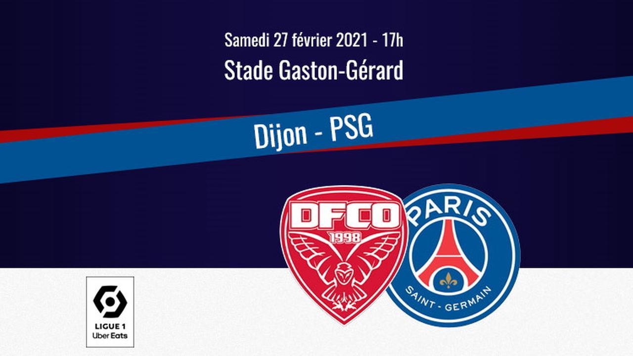 Comment regarder Dijon/PSG en streaming