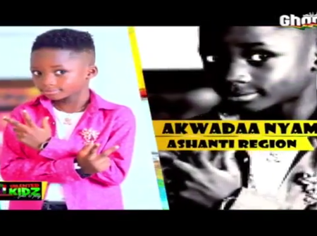 Raymond Nyarko popularly known as Akwadaa Nyame is a superstar - The Judges of Talented Kidz