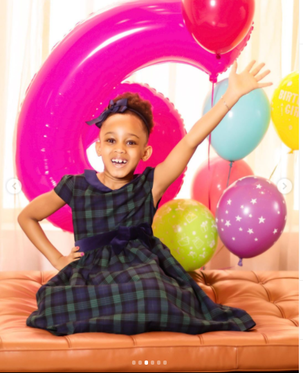 Music executive, Jude Okoye celebrates daughter Emma as she turns 6 (photos)