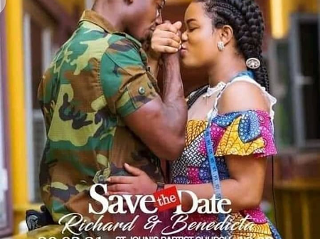 Leaked charts between Richard Agu Standard, The Obuasi Groom And A UK Lady Pops Up On Facebook.