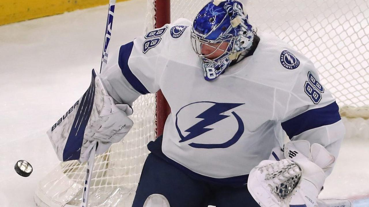 Lightning's mastery of Red Wings continues with 4-3 win