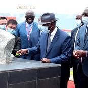 Transformation du cacao : le Président Alassane Ouattara pose la 1ere pierre d'un...