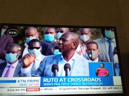 DP Ruto Breaks His Silence on BBI
