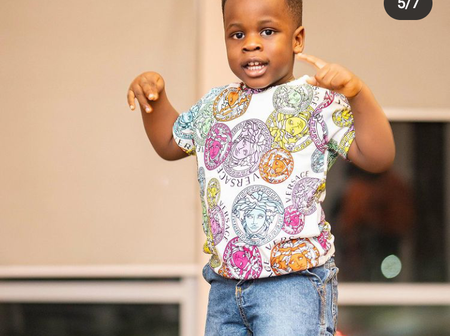 Gentle jack, Mompha, Nancy Joined Cubana Chief Priest To Celebrate His Son's Birthday On Instagram