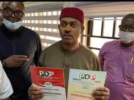 Meet The 6th Aspirant That Purchased PDP Nomination Form For Anambra Governorship Election