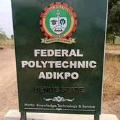 Benue: Controversy Of Federal Polytechnic Adikpo