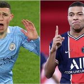 Manchester City's Star, Foden Calls Out Mbappe On Twitter After Scoring Against Borussia Dortmund