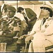 HISTORY Muhammad Gaddafi and captain Thomas Sankarar where assassinated