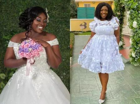 Throwback Wedding Pictures of Emelia Brobbey Storms The Internet