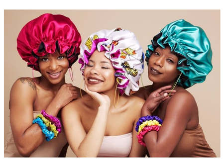 Benefits of wearing Satin Bonnets to sleep by ladies