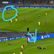 See The Picture Of Bayern Keeper Chilling On the Pitch Against Atletico Madrid In Yesterday's Clash