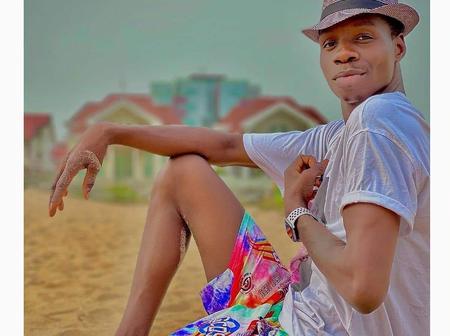 Actor Ado Gwanja shares new photos wearing shorts