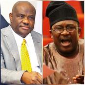 I wish Smart Adeyemi will call me a drunkard one day, and I will give it to him- Gov. Wike