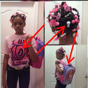 Look at what a father did to his 10 years old daughter for having a boyfriend