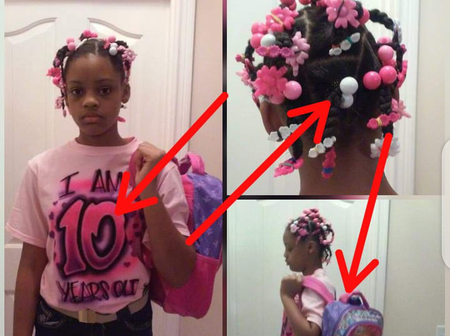 Look At What A Man Did To His 10-Year-Old Daughter When He Found Out She Has A Boyfriend