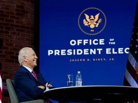 Joe Biden's transition to the White House officially starts