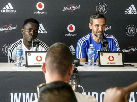 Zinnbauer Opens up About the Tough Week Ahead for Orlando Pirates