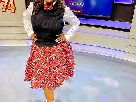 Betty Kyallo Excites Kenyans After She Wore A School Uniform On Her Latest Tv Show