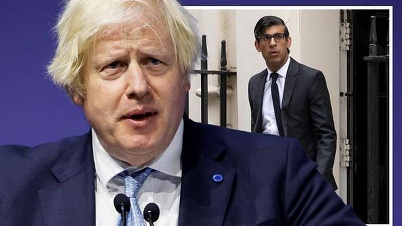 Cabinet rebellion LIVE: Boris facing assault on THREE fronts - Rishi Sunak leads revolt