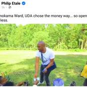 Shame on You! UDA Candidate Roasted After Being Caught Openly Bribing Voters(Video)