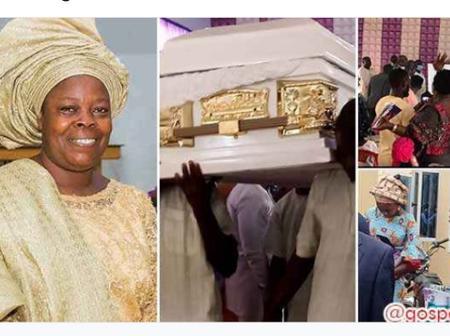 Mount Zion Ministries member, Mummy Feyisayo Oluwagbemi finally laid to rest