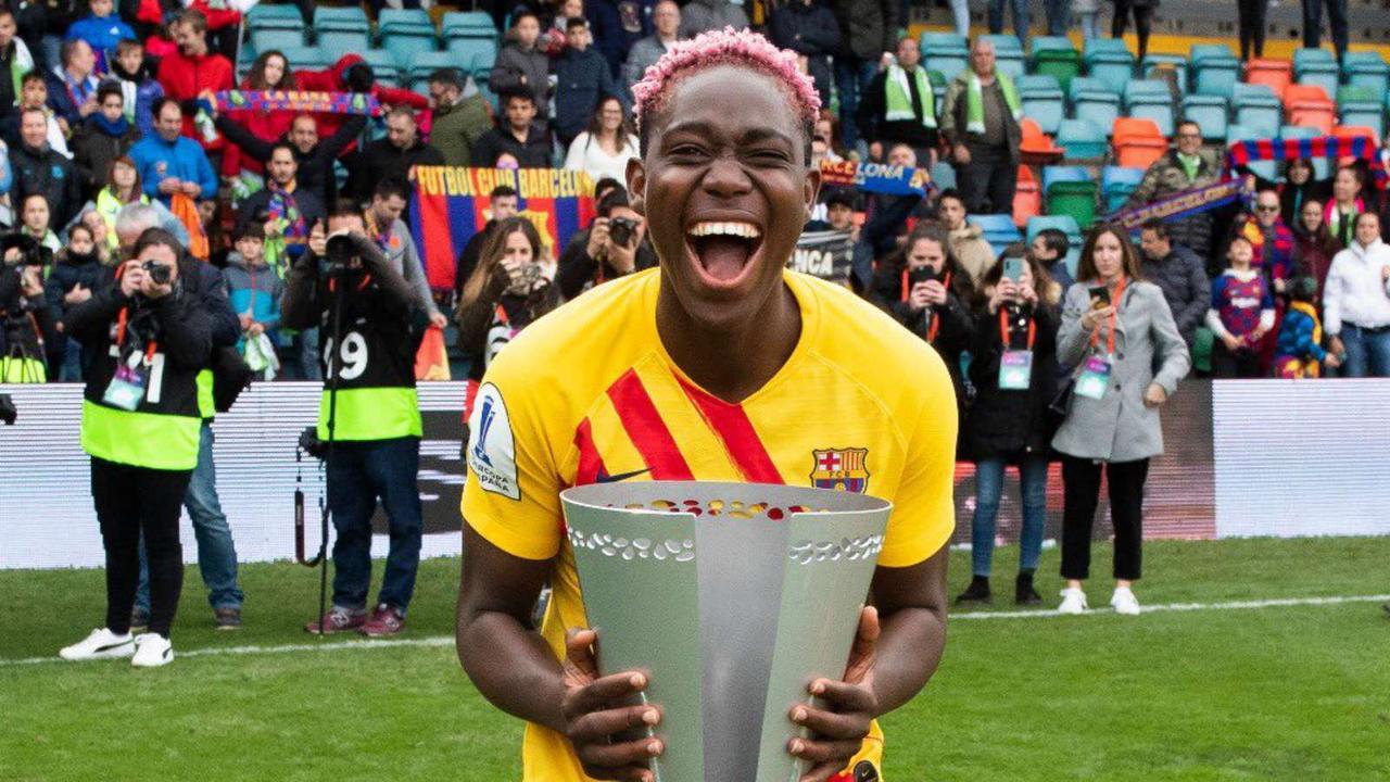 Oshoala's Barcelona retain Spanish Primera Iberdrola title