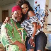 Pete Edochie Is 74 Years Old Today, See Photos Of Him With Destiny Etiko