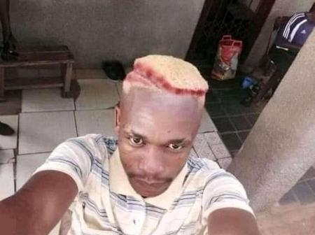 This Guy's New Haircut Got People Amused  (Photo)