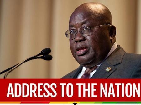 Pres. Akufo-Addo Must Address Ghanaians Immediately - See Reasons