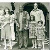Why Mzee Jomo Kenyatta Left His White Wife And Kids in UK When He Returned to Kenya