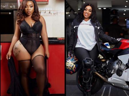 Check Out The Highest Most Trending Photos Of Moesha Boduong on Her IG Page
